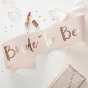 Bride To Be -nauha