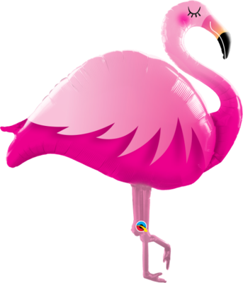 Muotofoliopallo, flamingo
