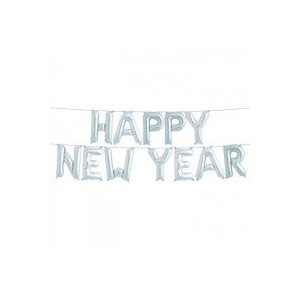 HAPPY NEW YEAR -foliopallot 36 cm