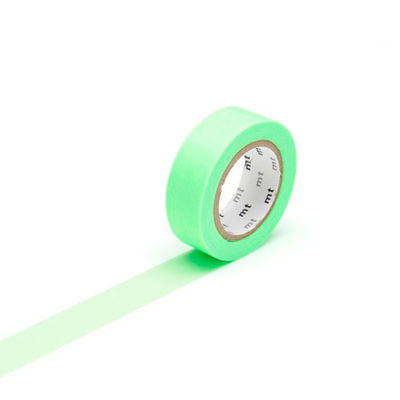 mt masking tape- shocking green