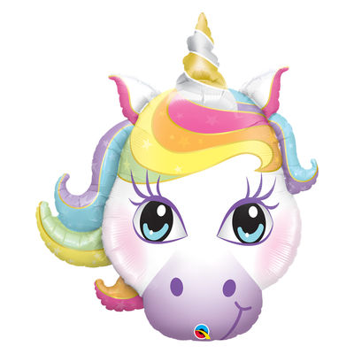Muotofoliopallo, magical unicorn