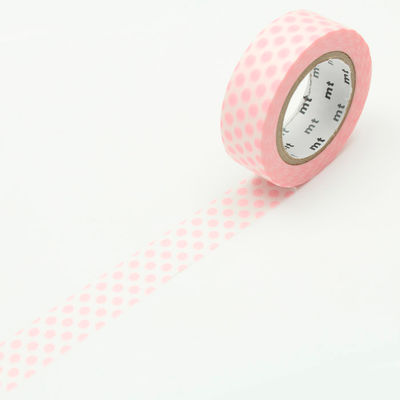 mt masking tape- strawberry milk dot