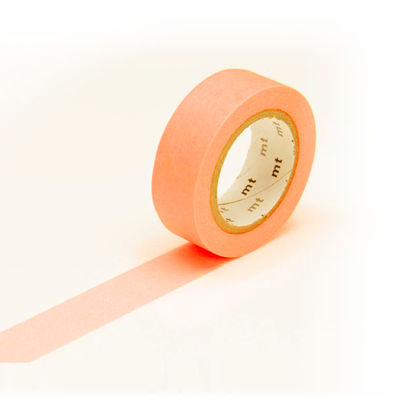 mt masking tape- shocking orange