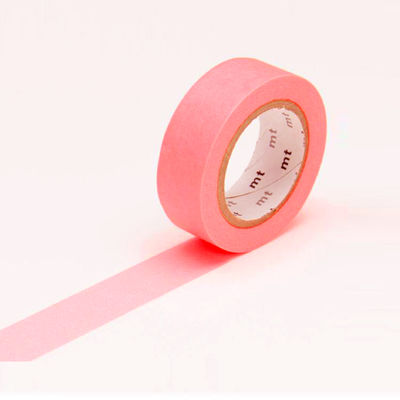 mt masking tape - shocking red