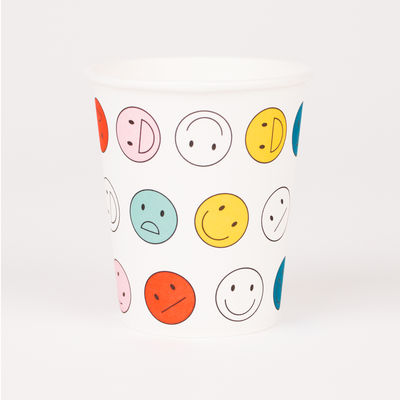 Smiley -paperimukit (8 kpl)