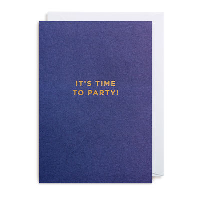It's time to party -korttipaketti (10 kpl)